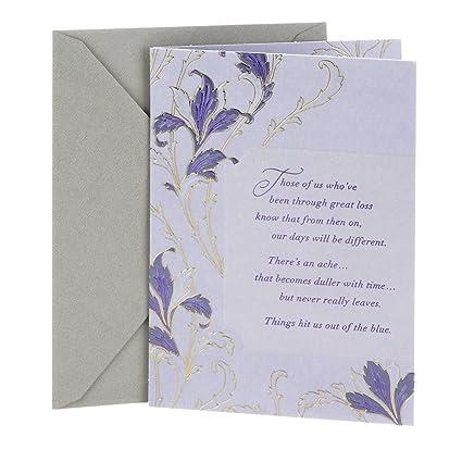 Amazon dayspring sympathy greeting card black floral dayspring sympathy greeting card black floral m4hsunfo