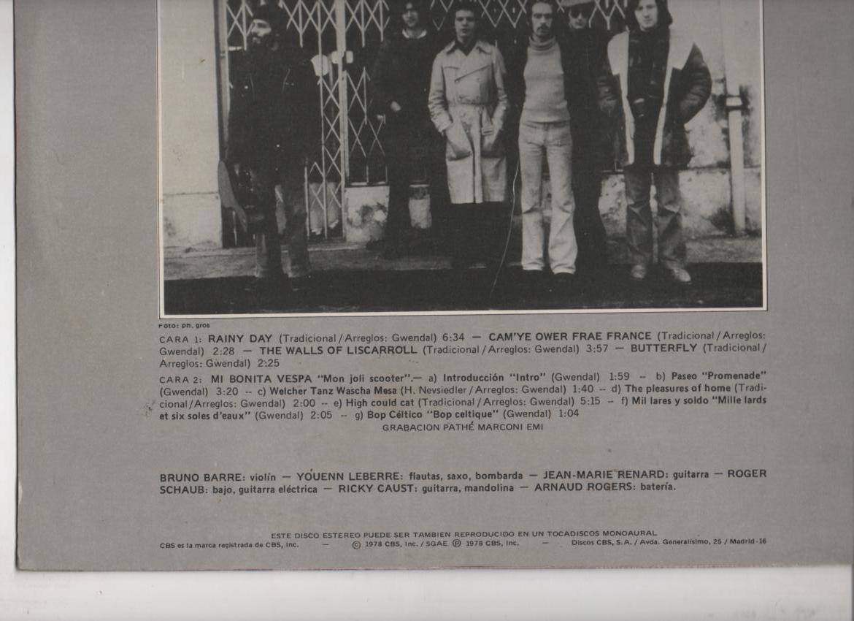 GWENDAL LP 1978 SPANISH EDITION: GWENDAL: Amazon.es: Música