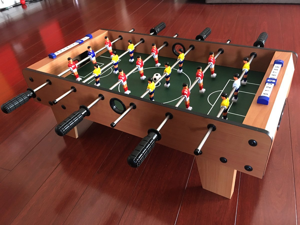 Amazon 27 tabletop soccer foosball table game w legs toys amazon 27 tabletop soccer foosball table game w legs toys games gamestrikefo Images