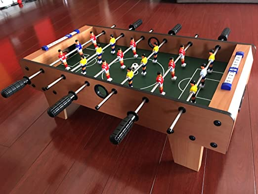 27″ Tabletop Soccer Foosball Table Game w/ Legs Review