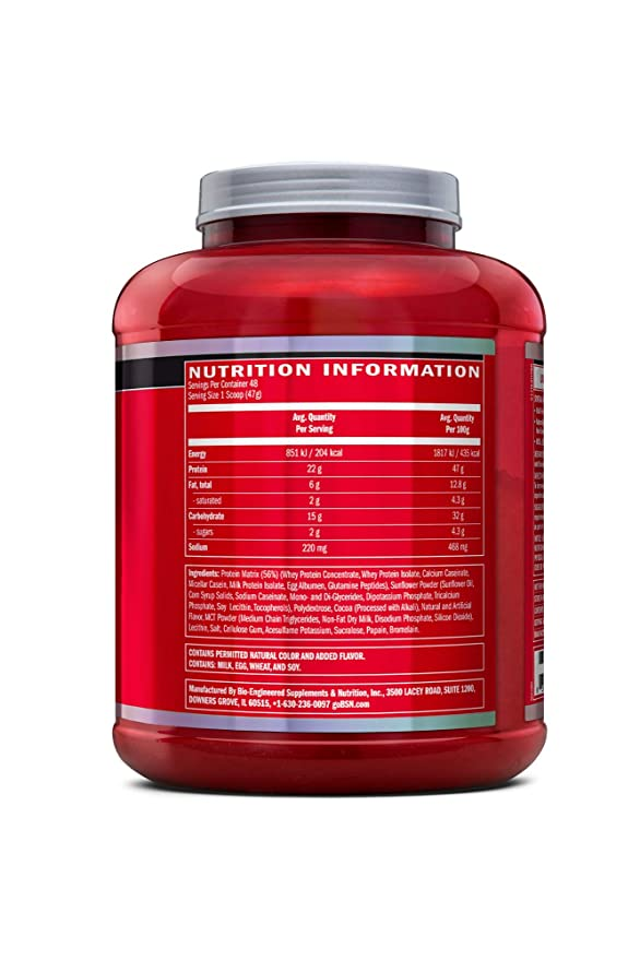 BSN Syntha 6 Protein Powder - 5 lbs, 2 27 kg (Chocolate Milkshake)