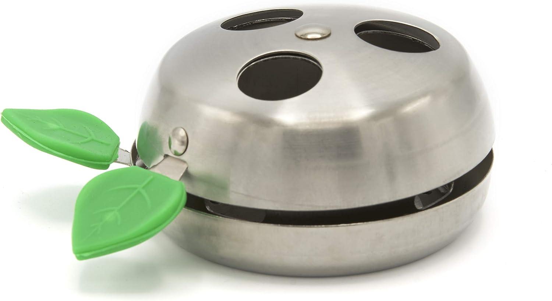 Provost Apple - Gestor de calor para Shisha o Cachimba - Mayor rendimiento y duración del carbón - Aluminio - 1 Und