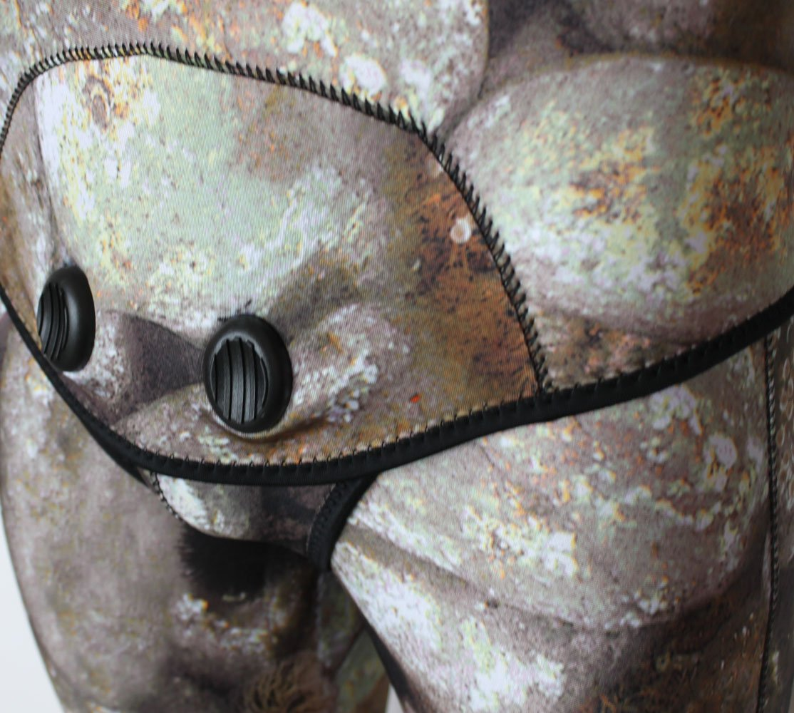 Realon Traje de Buceo 5 mm y 3 mm de espeleología, Traje de ...