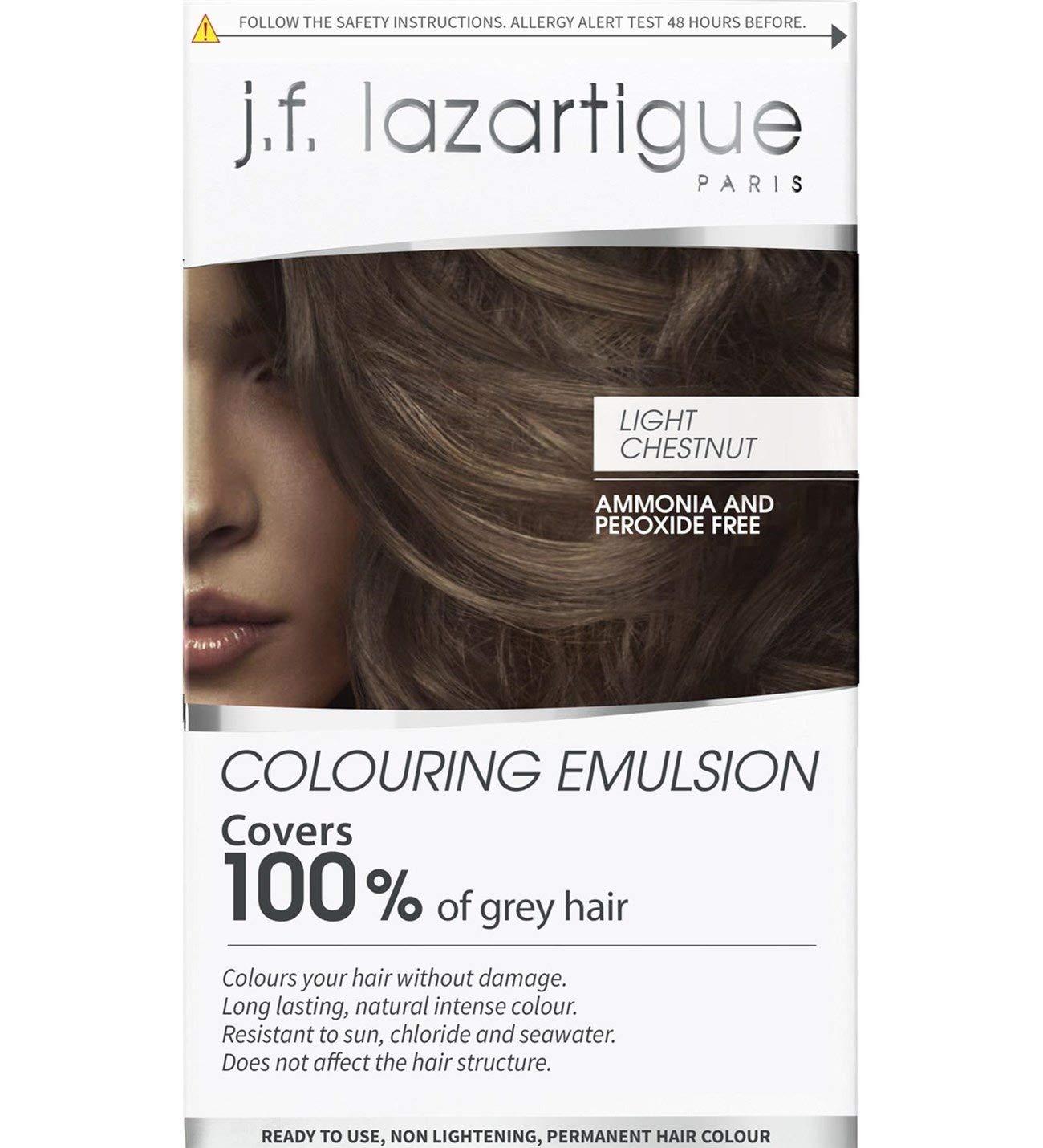 J.F. Lazartigue Color Emulsion - Light Chestnut 2.03 oz.