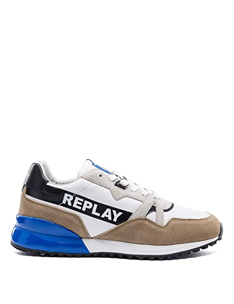 Up Men's Lace itScarpe Replay Borse E SneakersAmazon qAj4L5R3
