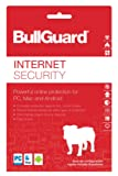 BullGuard Internet Security 2018, 3 Devices, 1 Year [Online Code]