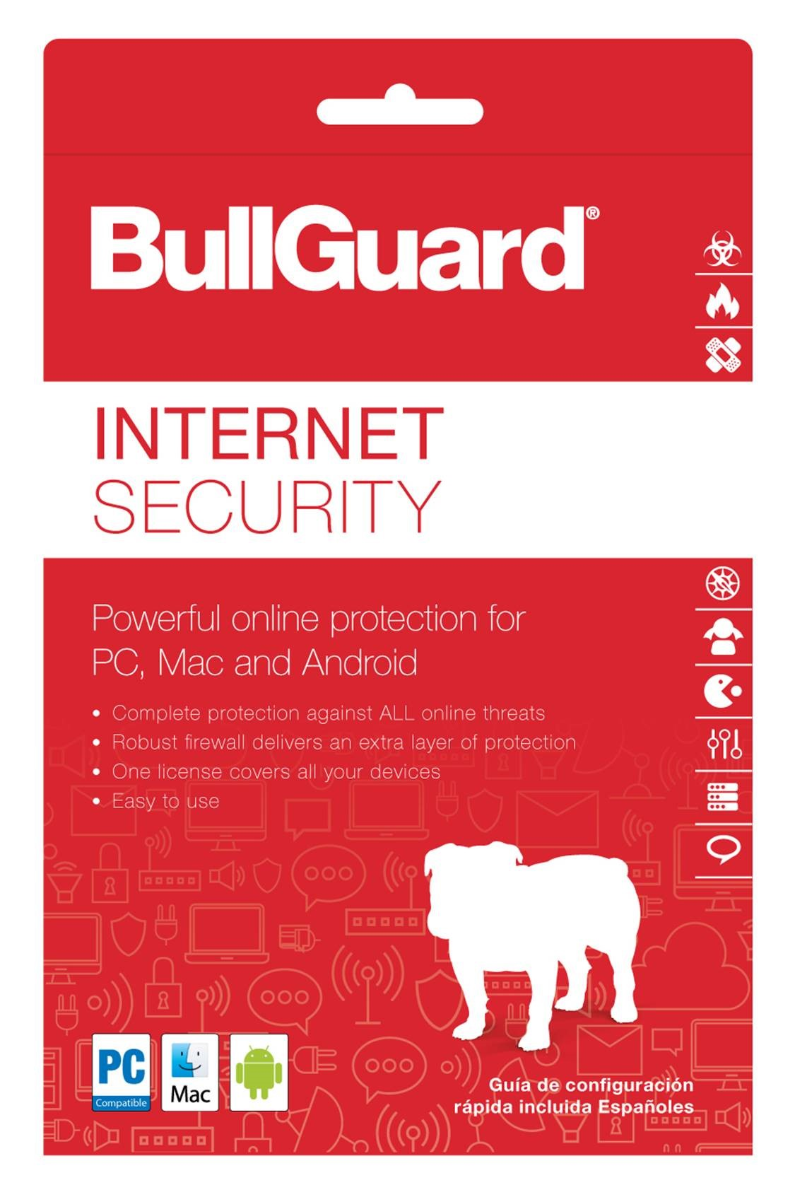 BullGuard Internet Security 2018, 3 Devices, 1 Year [Online Code] by BullGuard