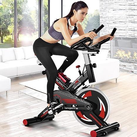 CDW Bicicleta DE Spinning Black Fitness D33 Robusta,Manillar ...