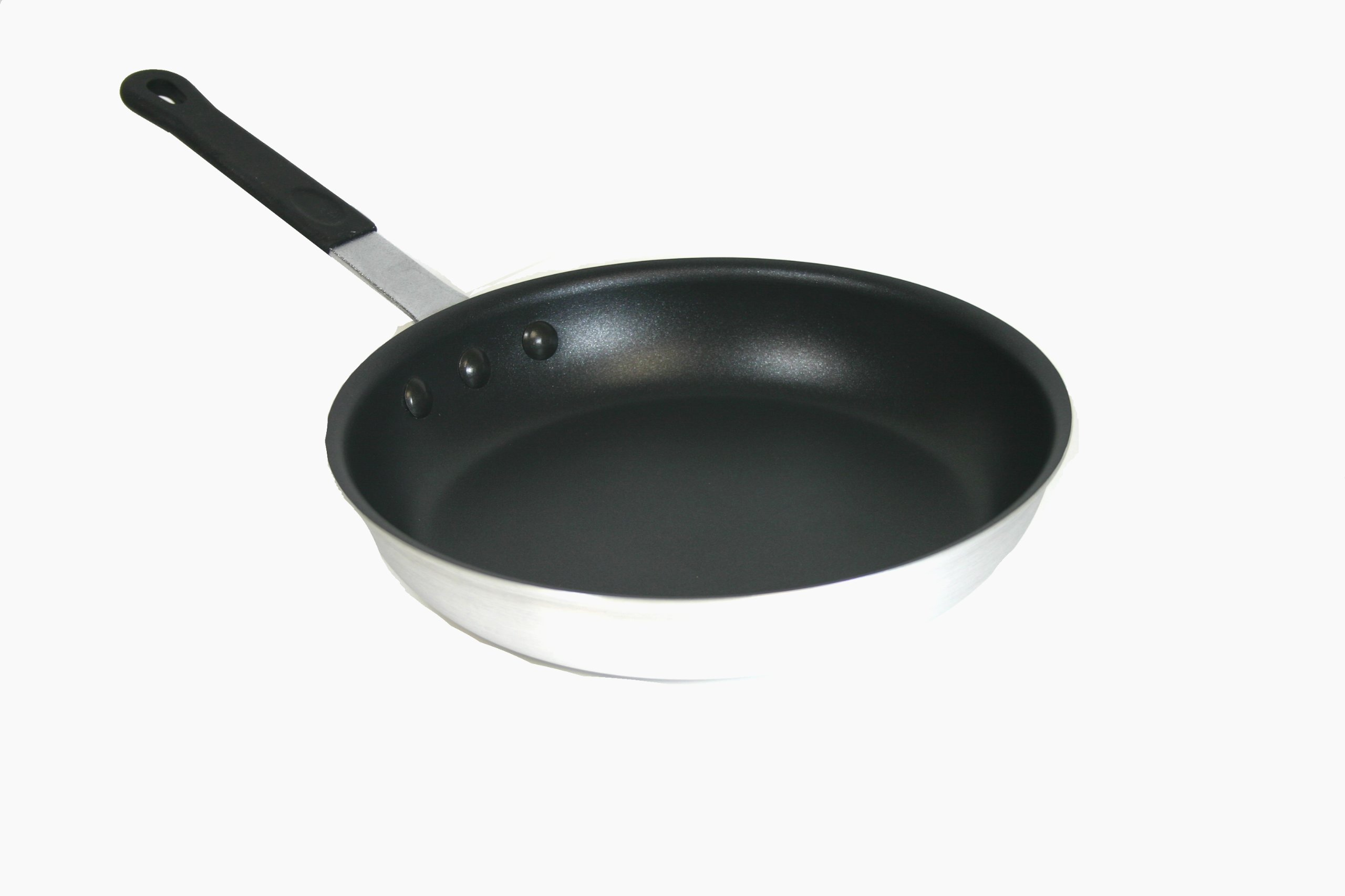 Paderno World Cuisine 12-Inch Non-stick Natural Aluminum Frying Pan