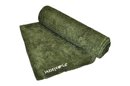 Jade Microfibra Toalla de Yoga Microfiber Towel, Verde Oliva ...