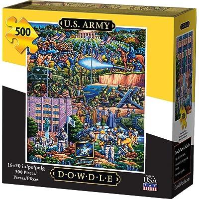 Dowdle Jigsaw Puzzle - U.S. Army - 500 Piece: Toys & Games