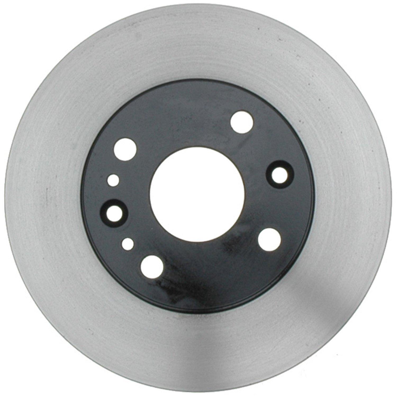 ACDelco 18A666A Advantage Non-Coated Front Disc Brake Rotor