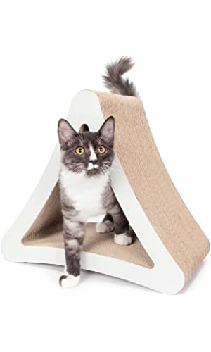 PetFusion 3-Sided Vertical Cat Scratcher