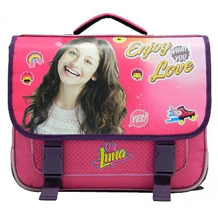 Cartable Soy Luna Love 38 cm CP/CE1 Rose fnzBoSfxp