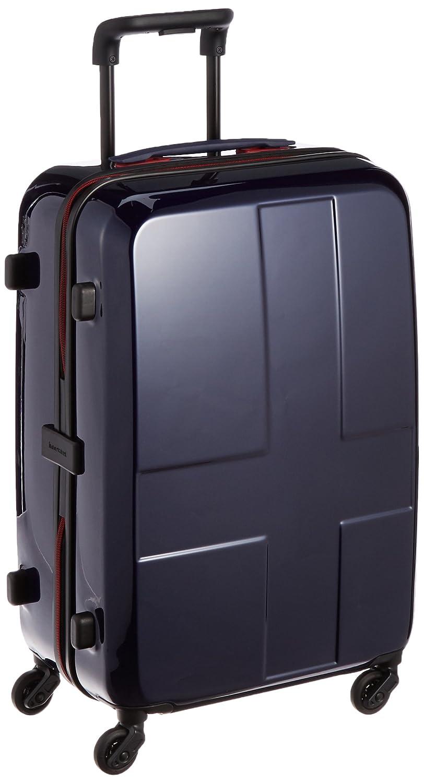 [イノベーター] スーツケース 50L 3kg 2年保証 トートバッグ付 62 cm INV55 インディゴ B014CCXH8I