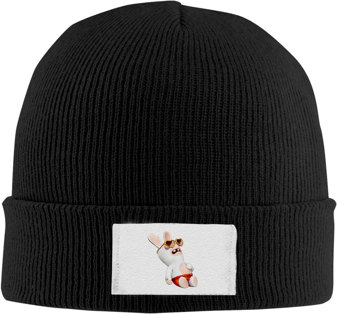Stretchy Cuff Beanie Hat Black Dunpaiaa Skull Caps Sunglasses Winter Warm Knit Hats