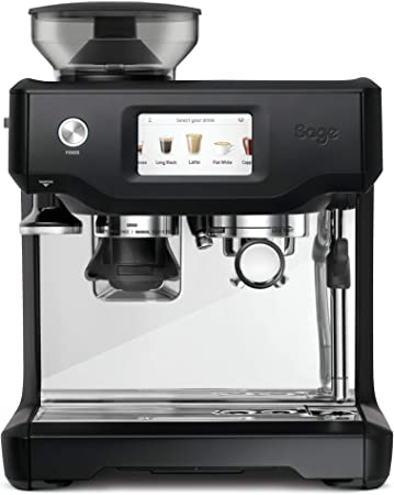SAGE SES880BTR the Barista Touch, Cafetera espresso ...