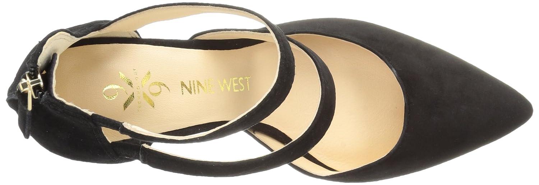 Nine West Women's Florent Suede B01N6T7HVX 7 B(M) US|Black