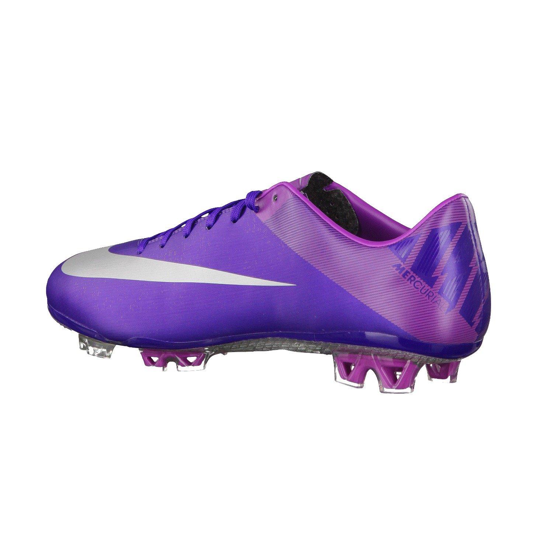 255b1e6e6 Amazon.com   Nike Mercurial Vapor VII Firm Ground Football Boots- Purple  (12)   Soccer