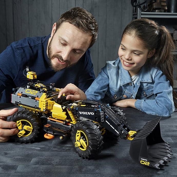 LEGO 乐高 机械组系列 42081 沃尔沃轮式装载机 积木玩具 6.4折$89.99史低 海淘转运到手约¥779
