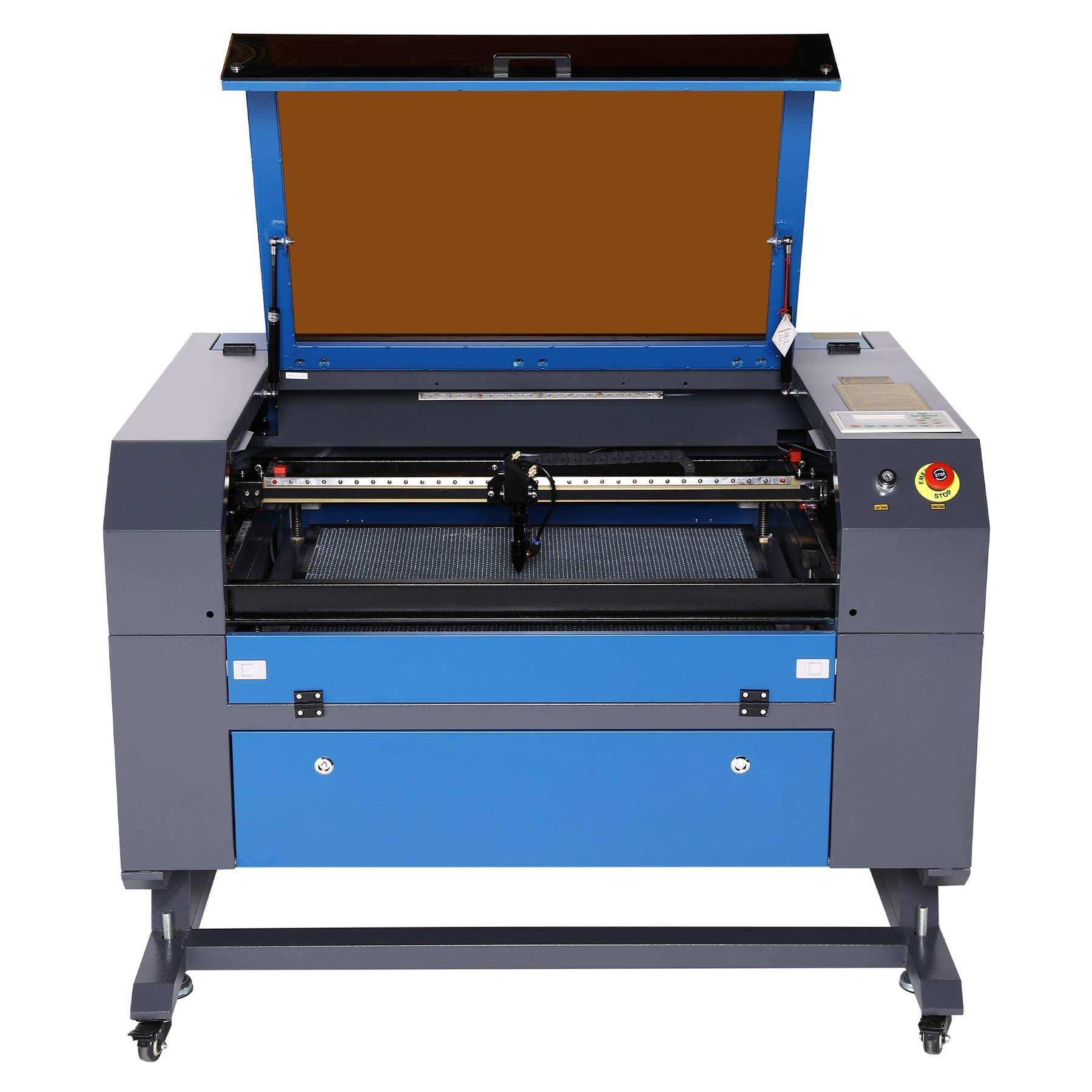 OMTech 60W CO2 Laser Engraver Cutter with 20 x 28in Work Area, Laser Engraving Machine with USB Port, Ruida Digital Control with Real-Time Data, Red Dot Pointer, for Wood Acrylic Glass