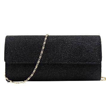 11650dac8 Bolso de mano bolso bolso Clutch Mujer Bag bolso pequeño bolso de hombro  bolsillos para mujer fiesta boda Día La Compra, Negro: Amazon.es: Bricolaje  y ...