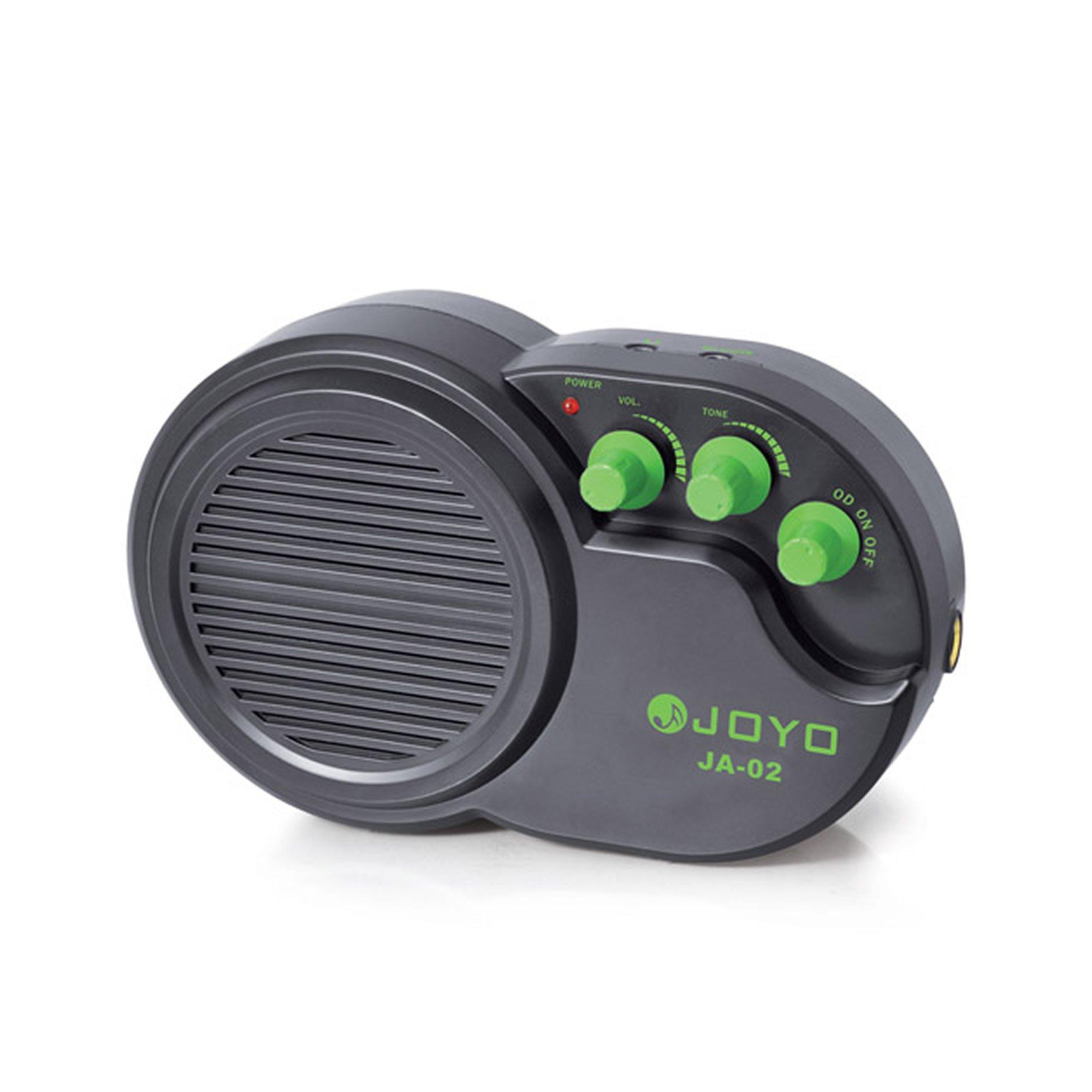 JOYO JA-02 3W Mini Electric Guitar Amp Amplifier Speaker with Volume Tone Distortion Control