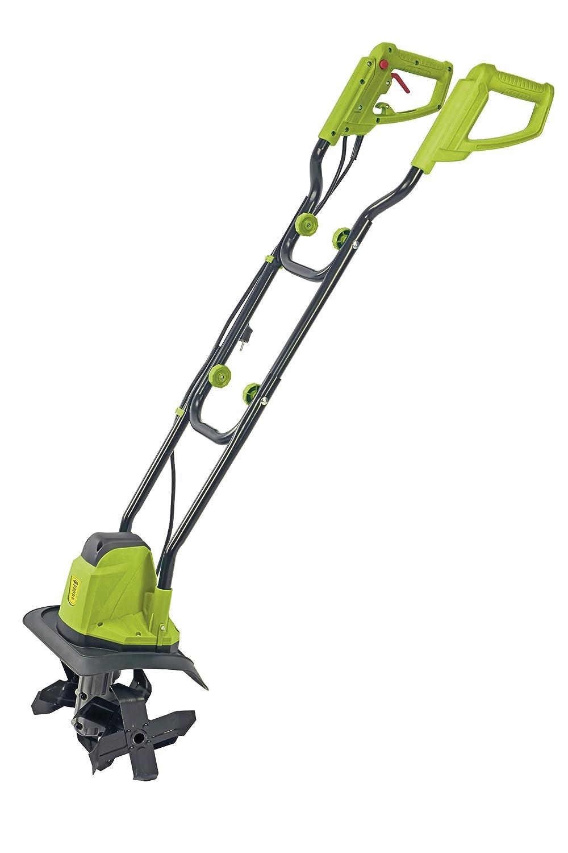 Gaden Gear Electric Garden Tiller, Adjustable Cultivator & Rotavator to Break Up Soil for Lawn, Vegetable Patch & Allotment, 1050W Garden Gear