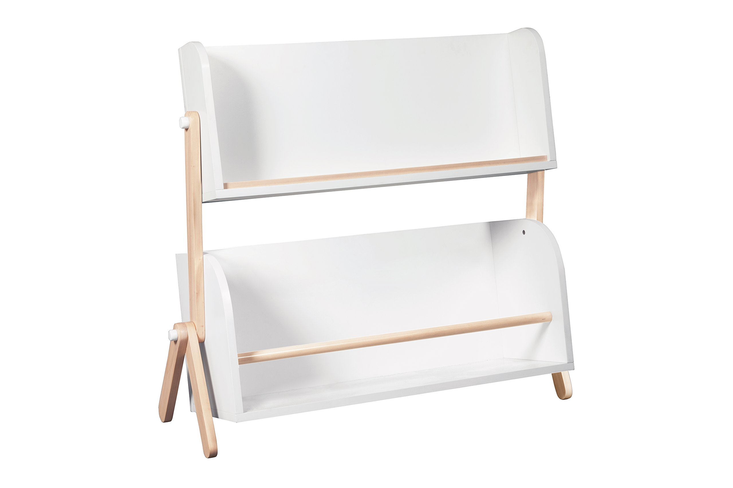 Babyletto Tally Storage and Bookshelf, White/Washed Natural