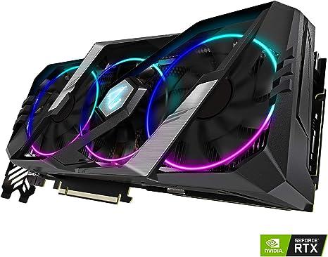 Tarjeta gráfica GIGABYTE AORUS GeForce RTX 2070 Super 8G, 3 ...
