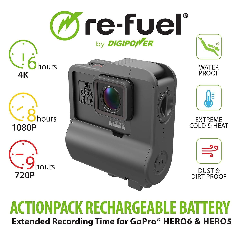 re-fuel Akkupack RF-6H50 112021 apropiado para=GoPro Hero 5, GoPro ...