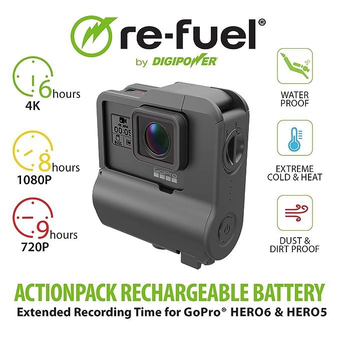 Amazon.com: Re-Fuel - Batería de 9 horas para GoPro Hero7 ...