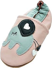Engel und Piraten Krabbelschuhe -MARKENQUALITÄT aus Deutschland VIELE Motive bis 4 Jahre Babyschuhe Leder Babyhausschuhe Lauflernschuhe Lederpuschen