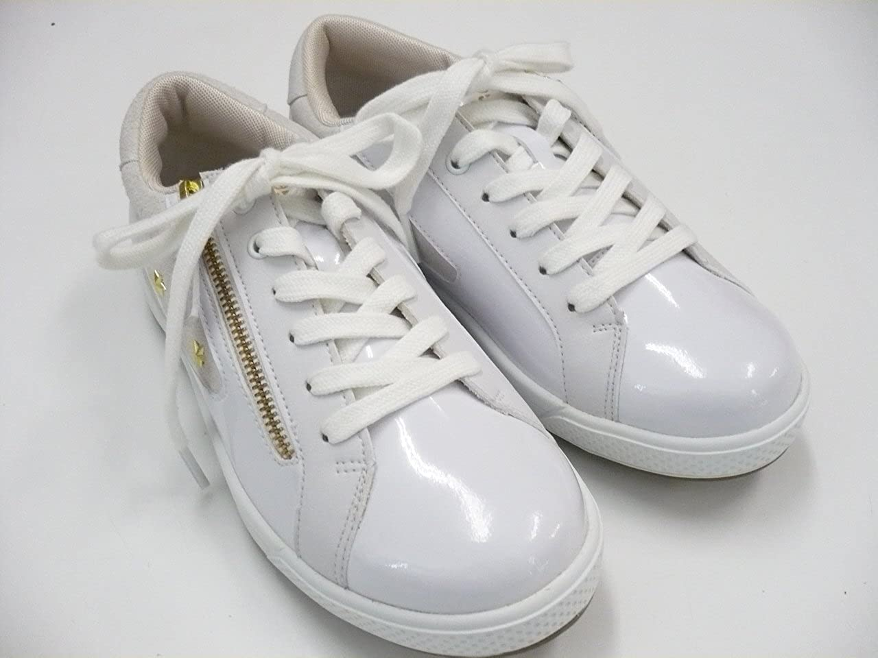 【レディース】MU SPORTS 703U6602 ゴルフシューズ ホワイト 24.5 cm  B01KUYFSKW