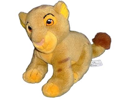 Peluche Doudou Simba rey León Disney Exclusive Walt Disney H 20 cm x L 30 cm