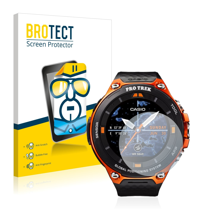 brotect Protector Pantalla Compatible con Casio WSD-F20 ...