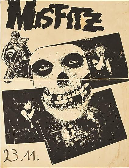 Amazon com: Annex Misfitz Punk Rock Music Vintage Concert Band