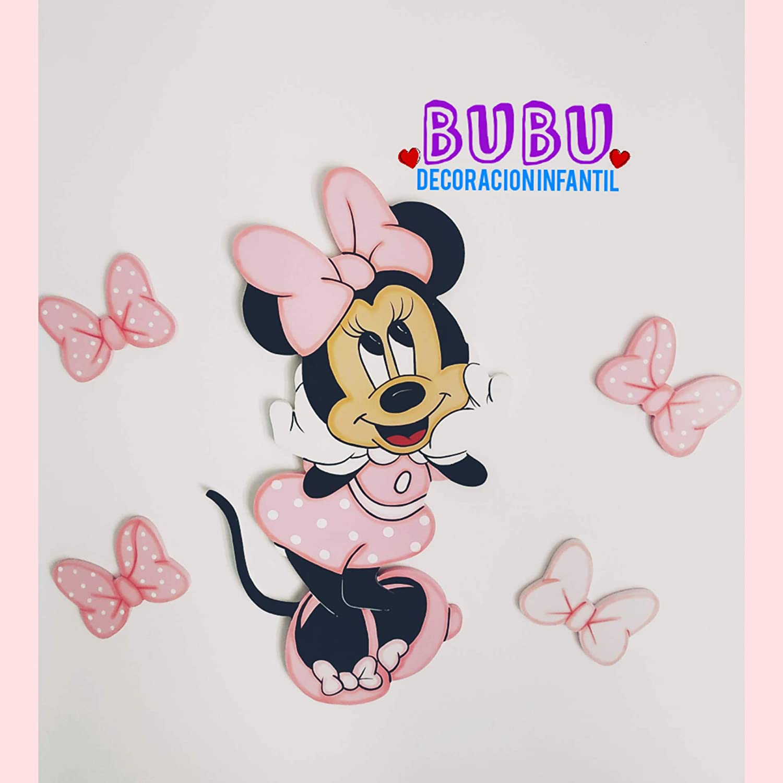 Fun House 712907/Disney Minnie Silla/ /Silla de Camping Plegable para ni/ños