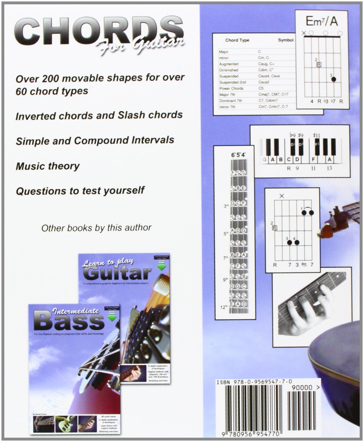 Amazon Chords For Guitar Transposable Chord Shapes Using The