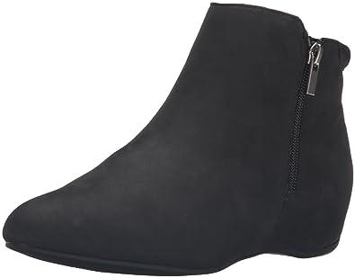 Rockport Women's Total Motion Emese Boot, Black Nubuck, ...