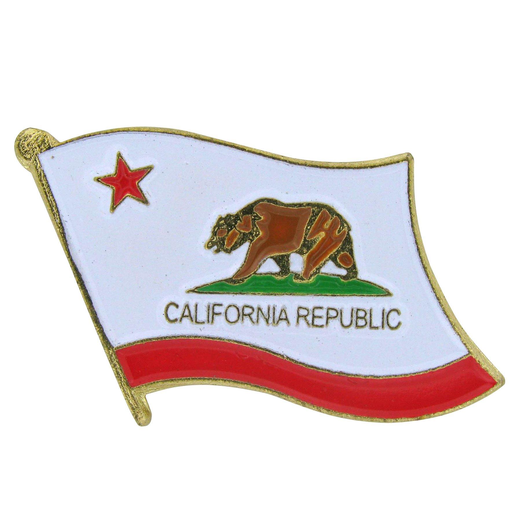 US Flag Store California Flag Lapel Pin