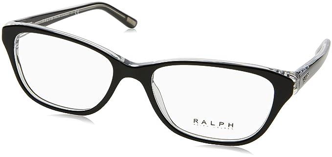 Ralph 0Ra7020, Monturas de Gafas para Mujer, Multicolor (Black/Crystal), 52: Amazon.es: Ropa y accesorios