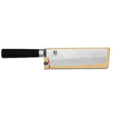 Amazon.com: Shun VG0028 Nakiri cuchillo de 6.5 in, 6.5 in ...