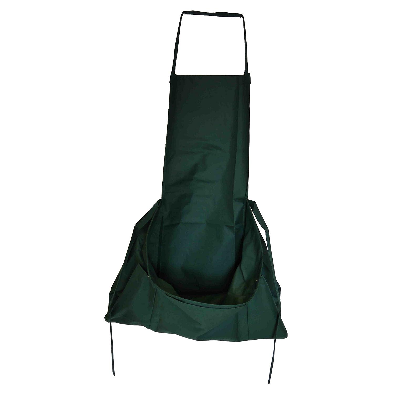 バッグと農民の楽しい収穫庭のエプロン| Jewelry-stores.co.uk防水緑 B07DLRNC9Z