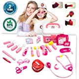 Kids Doctor Kit - Pretend Play Doctor Kit for Kids,Deluxe Play Doctor Set for Kids, Gamzoo Dentist Fit Toy Doctor Kit with Lights for 3 - 5 Year Old Girls & Boys