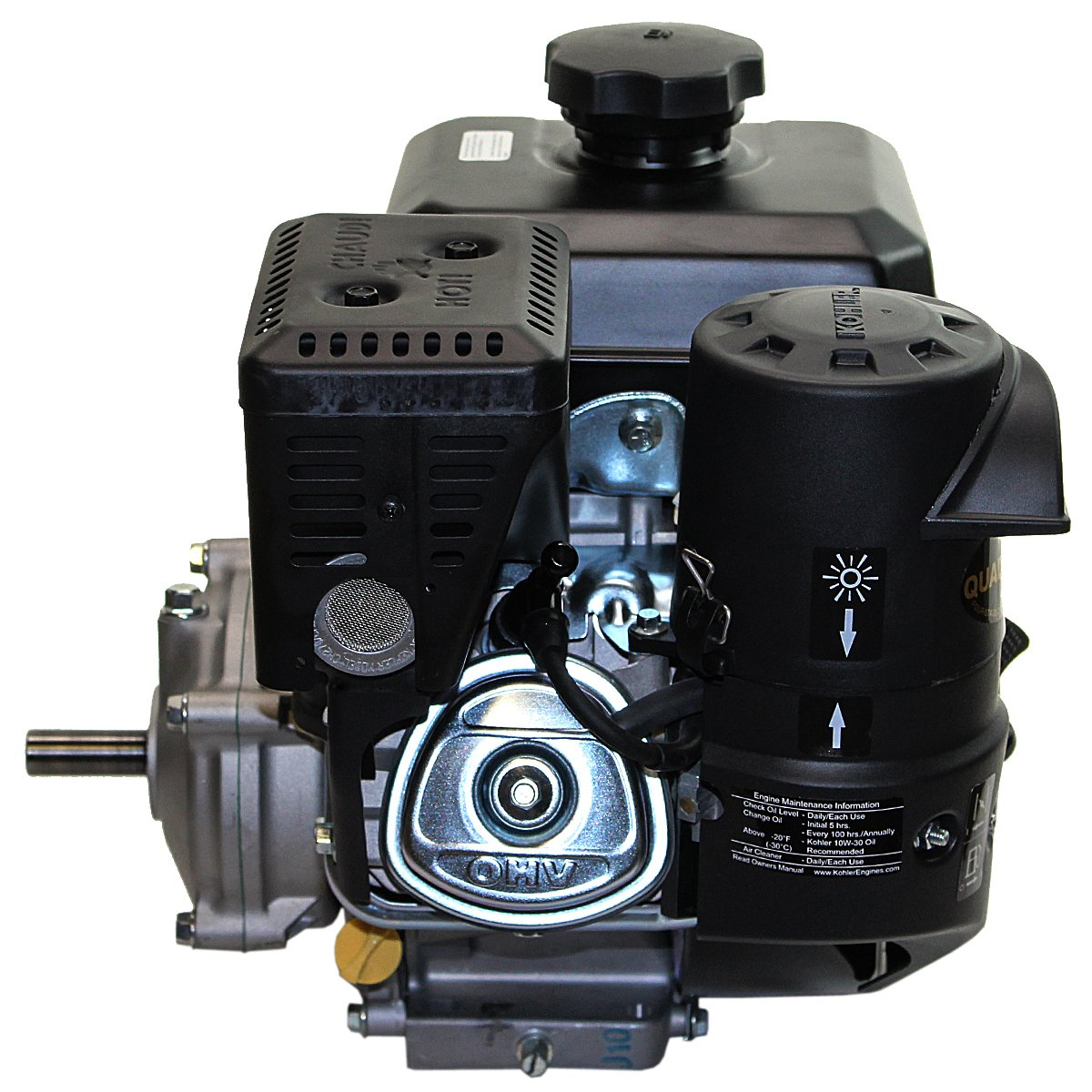 Kohler 7hp Command Pro 61 Gear Reduction 3 4x2 Keyed 2 7 Engine Schematics Shaft Recoil Start Cis Ohv Fuel Tank Muffler Home Kitchen