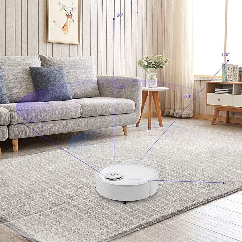 GSWF_OOEFC GENERICS Robot de Balayage chargeant la Machine de Nettoyage Domestique Paresseux aspirateur Intelligent appareils ménagers-Blanc Blanc