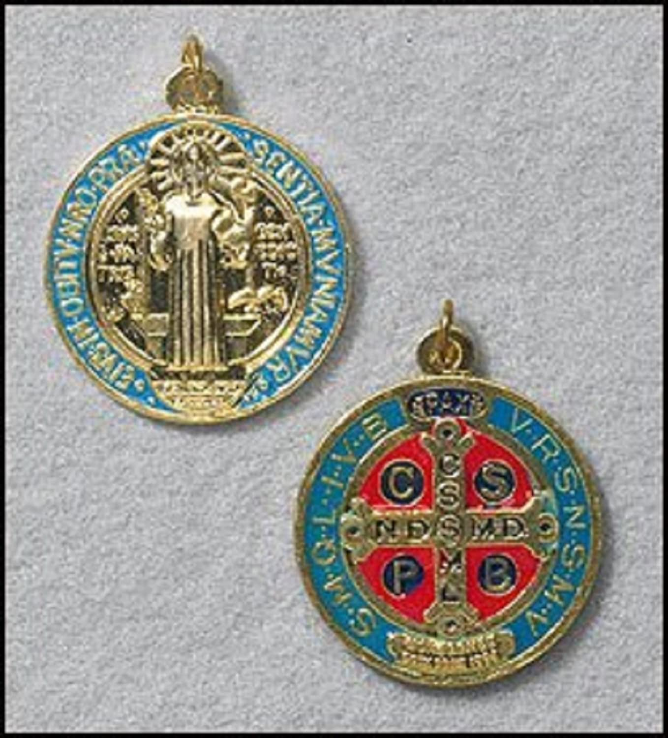 medal pendant assisi christian listing clara catholic religious jewelry of fullxfull clare necklace de santa il assis medallion st