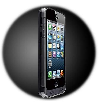 iFans EL-IP5-04 - Carcasa con batería para iPhone 5/5S, negro