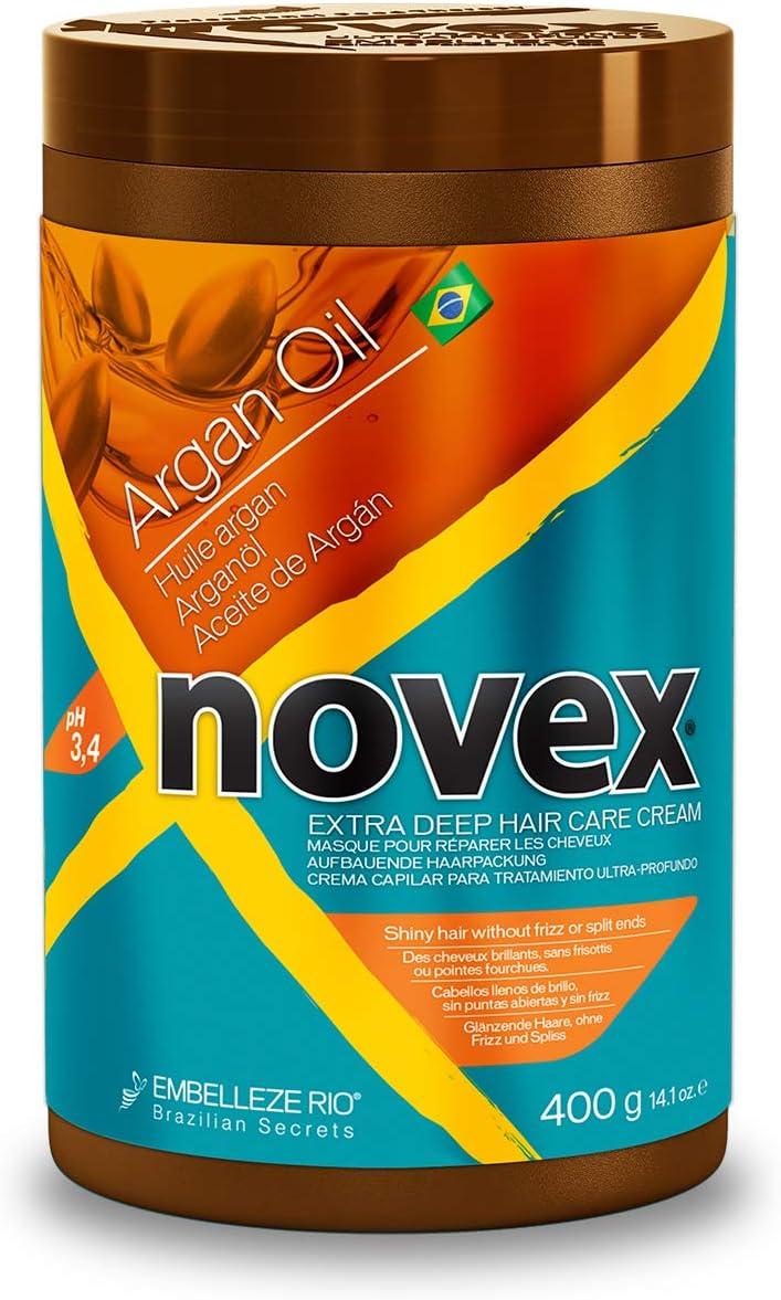 Novex Aceite de Argán, Mascarilla Capilar - 400g